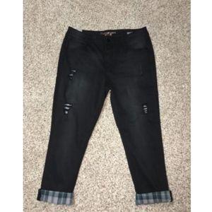 Seven7 Jeans Skinny Plus Size 24W NWT